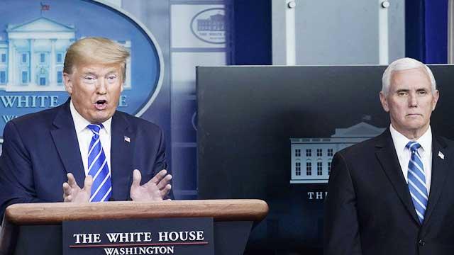 White House plans to disband coronavirus taskforce