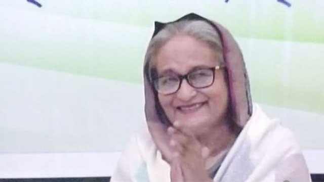 Hasina hits back hard at COVID-19 vaccine critics