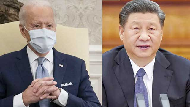 Biden speaks with China's Xi, raising economic practices, human rights abuses