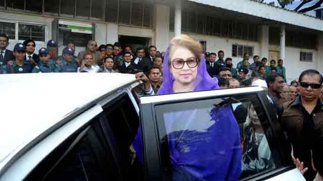 Khaleda Zia can't run polls in present context: CEC