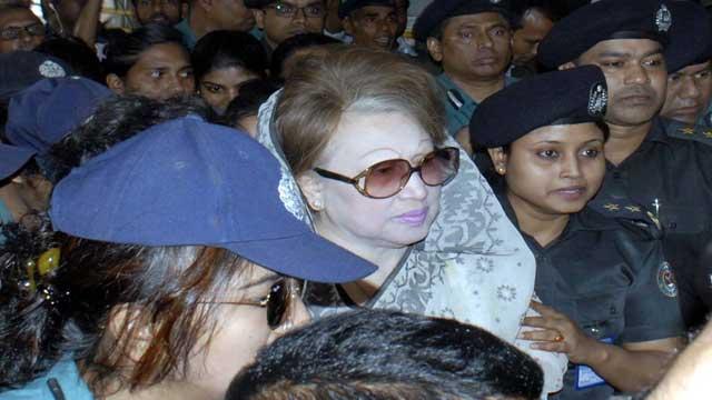 Khaleda Zia's bail: SC to pass order tomorrow on govt appeal