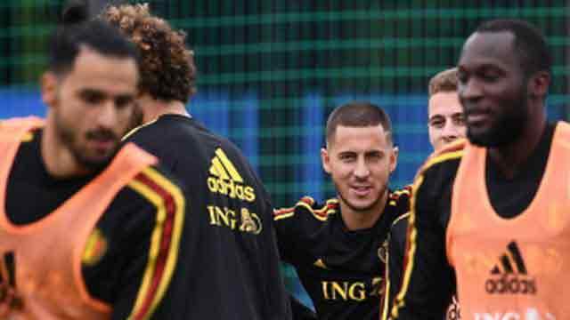 Hazard's Belgium block France path