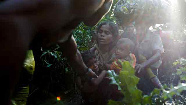 US decries 'abhorrent ethnic cleansing' in Myanmar on its first anniv
