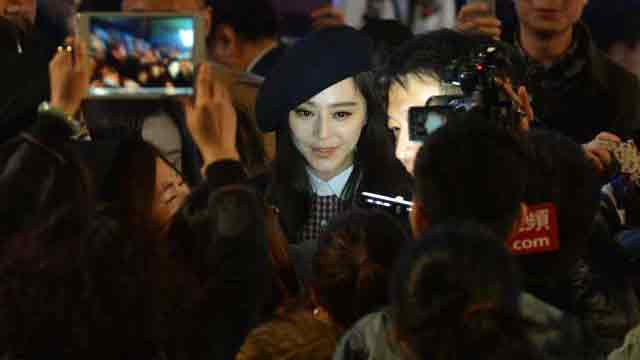 Chinese actress disappears after tax trouble