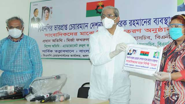 Government imprisons journalists for telling truth: BNP