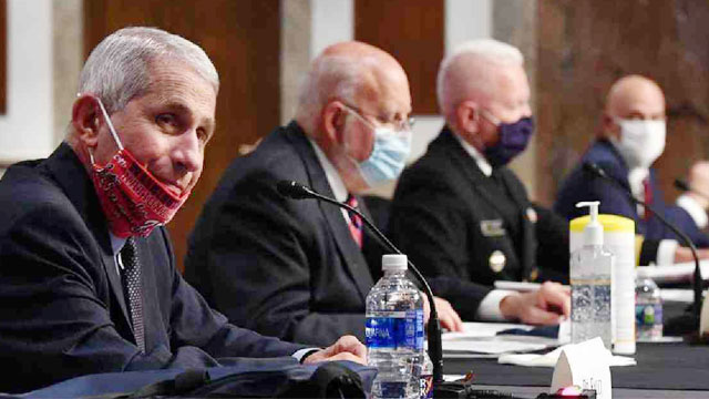 COVID-19 cases could go up to 100,000 per day in US: Fauci
