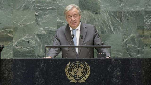 World must prevent new Cold War, Guterres warns