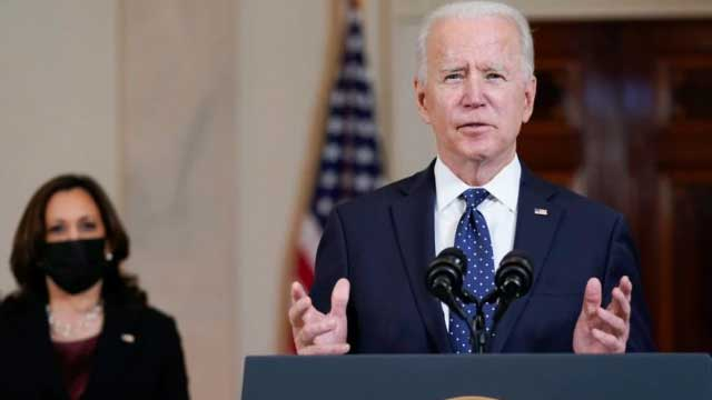 Determined to help India in Covid fight: US President Biden