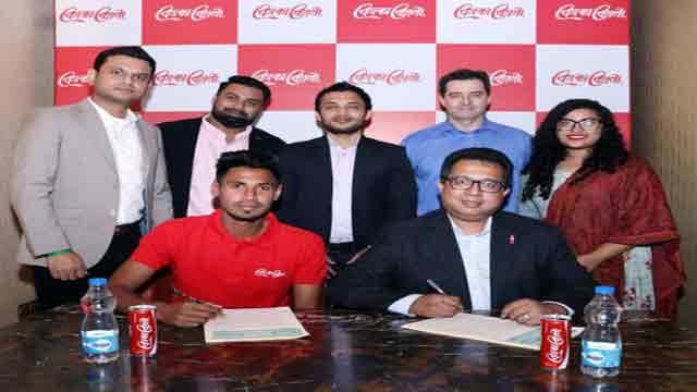 Mustafiz extends with Coca-Cola
