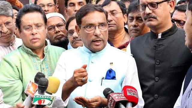 Sinha provokes anti-AL propaganda before polls: Quader