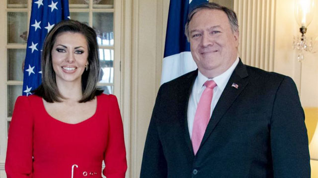Morgan Ortagus named as State Department Spokesperson