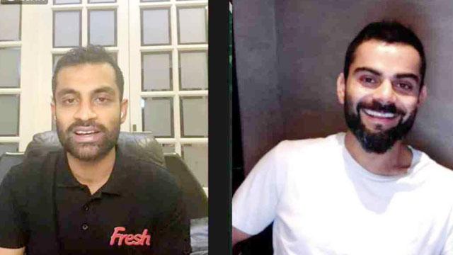 Live with Tamim: Consistent training, diet key to success, says Virat Kohli