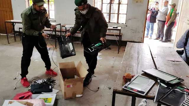 Two killed as CCC polls end amid violence