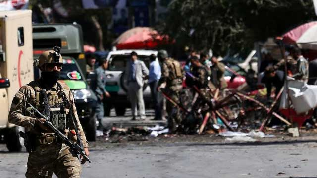 Blast kills 24 at Afghan election rally