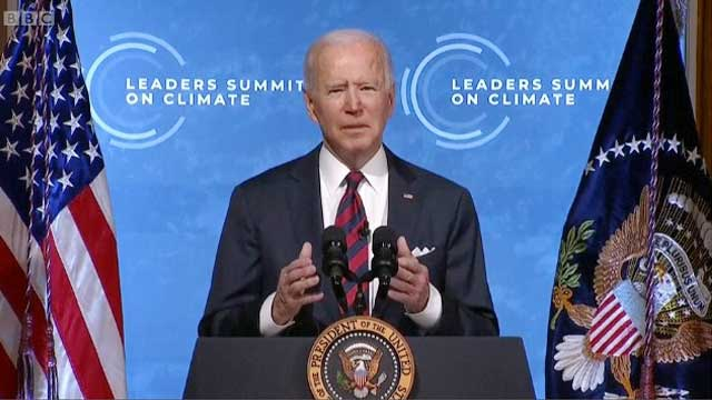 This will be decisive decade for tackling climate change: Biden