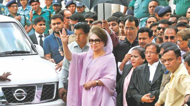 Begum Khaleda Zia becomes victim of Hasina's vengeance