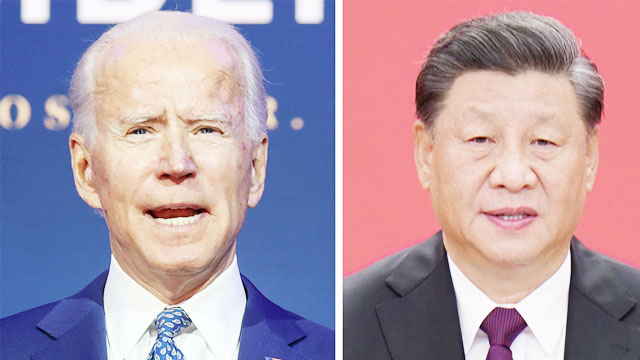Chinese President congratulates Biden on election victory