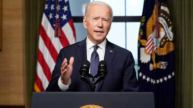 Time to end US war in Afghanistan with total pullout: Biden