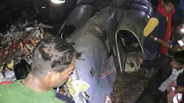 Two BAF aircraft crash in Cox's Bazar