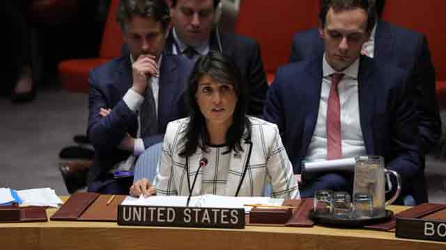 Ambassador Haley's remarks at UNSC meeting on Iraq