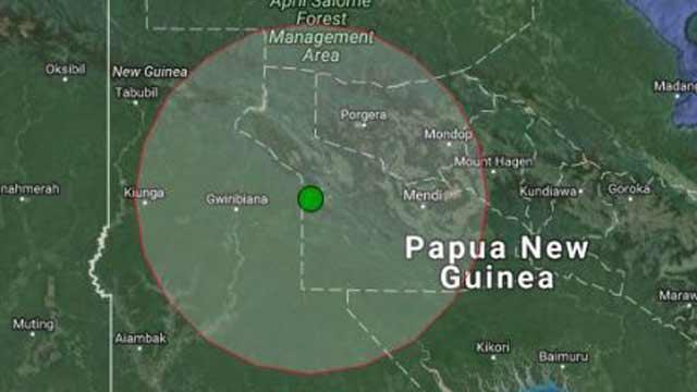 ভূমিকম্পে কাঁপল পাপুয়া নিউ গিনি