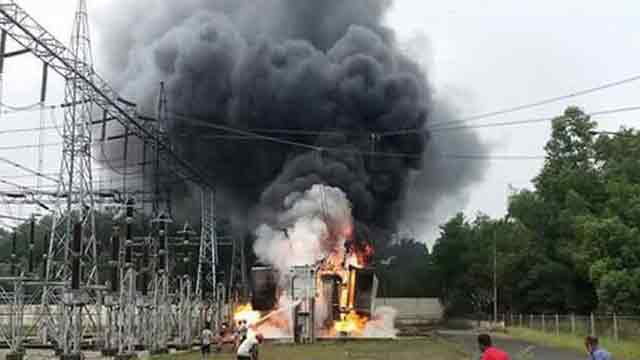 Fire breaks out at Fenchuganj power substation