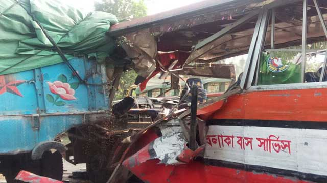 Four Ijtema devotees killed in Sylhet road acciden