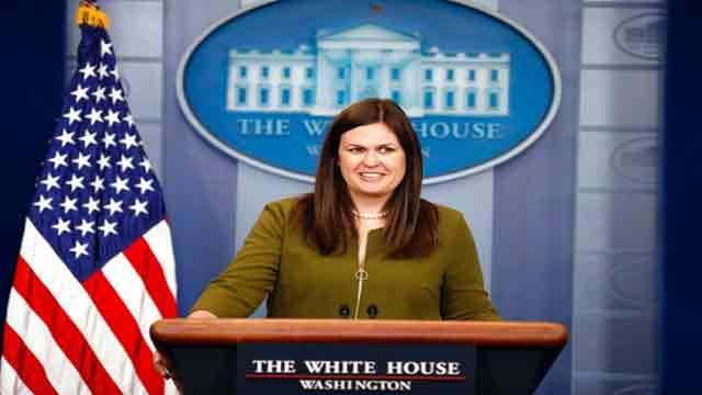 White House Press Secretary statement