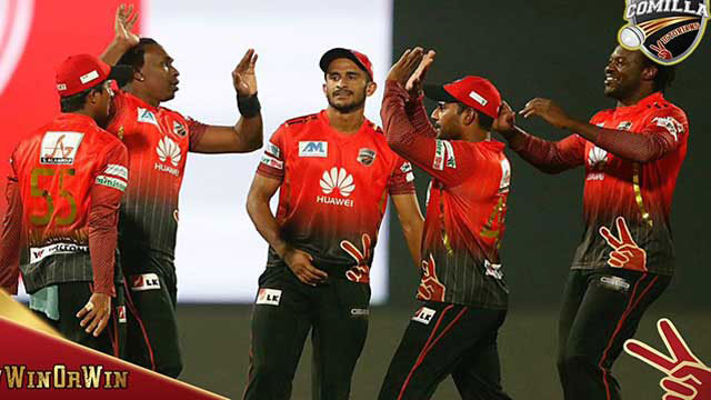 Comilla maintain top slot with win Rangpur in BPL