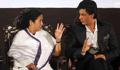 Shah Rukh gets a lift in Mamata Banerjee's 'small car'