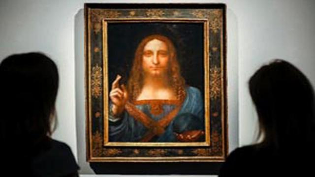 Vinci artwork sold for record $450.3m