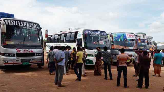 Passengers suffer as transport strike begins in Ctg
