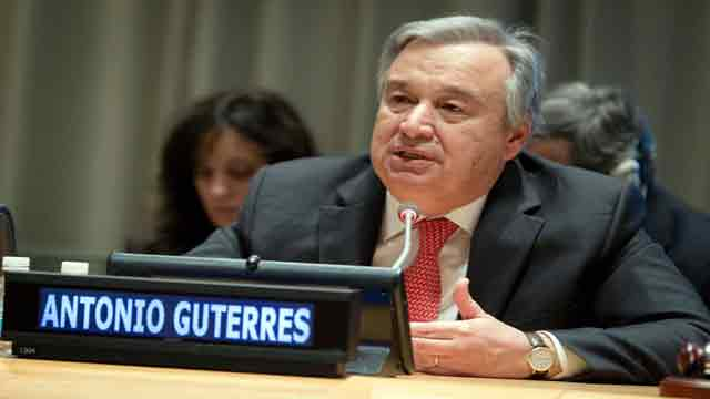 UN chief seeks coordinated action for pollution-free world